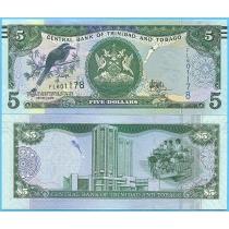 Тринидад и Тобаго 5 долларов 2006 (2017) год.
