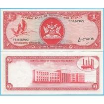 Тринидад и Тобаго 1 доллар (1964) 1977 год.