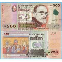 Уругвай 200 песо 2015 (2017) год.