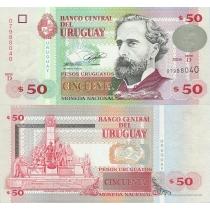 Уругвай 50 песо 2008 год.