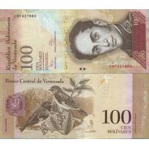 Венесуэла 100 боливар 2012 год.