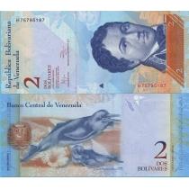 Венесуэла 2 боливара 2012 год.