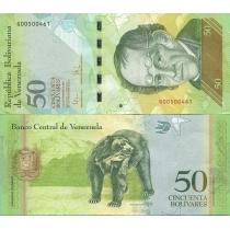 Венесуэла 50 боливар 2009 г.