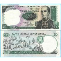 Венесуэла 20 боливар 1987 год. Юбилейная