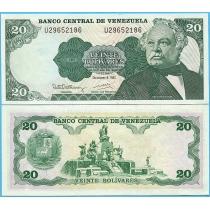 Венесуэла 20 боливаров 1992 год.