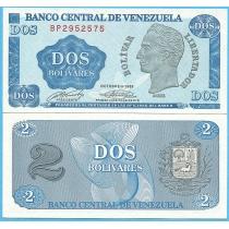 Венесуэла 2 боливара 1989 год.