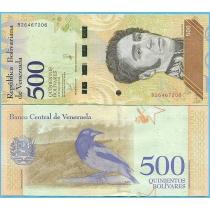 Венесуэла 500 боливаров 2018 год.