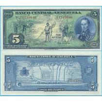 Венесуэла 5 боливаров 1966 год. Юбилейная