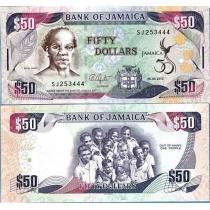 Ямайка 2012 г. 50 Долларов Независимости 50 Лет