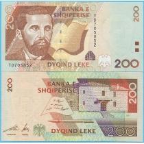 Албания 200 лек 2001 год.