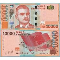 Албания 10000 лек 2019 год.