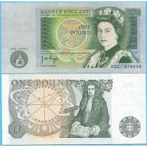Великобритания 1 фунт 1978-1980 год. Pick377a.2