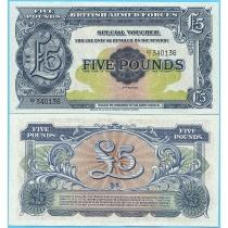 Великобритания 5 фунтов 1958 год.