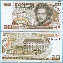 Австрия 20 шиллингов 1986 год.
