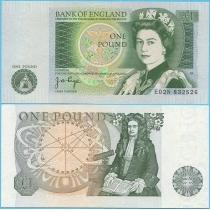 Великобритания 1 фунт 1978-80 г.