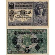 Германия 5 марок 1917 г.