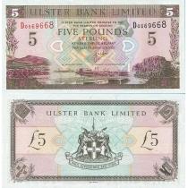 Северная Ирландия 5 фунтов 2001 г.