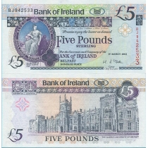 Северная Ирландия 5 фунтов 2003 г.
