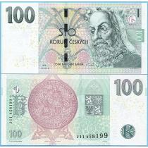 Чехия 100 крон 2018 год.