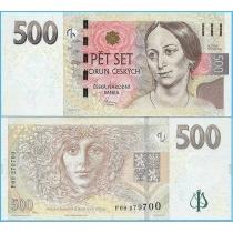 Чехия 500 крон 2009 год.