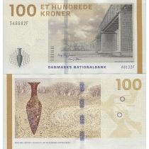 Дания 100 крон 2009 год.
