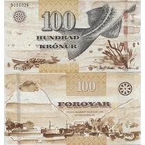 Фарерские острова 100 крон 2012 г.