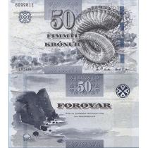 Фарерские острова 50 крон 2012 г.