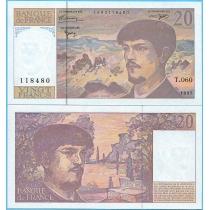 Франция 20 франков 1997 год.