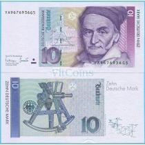 ФРГ 10 марок 1993 год.