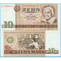 ГДР 10 марок 1971 (1985) год.