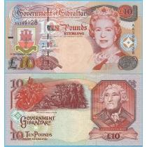 Гибралтар 10 фунтов 2006 год.
