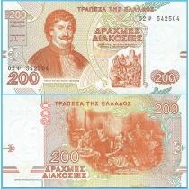 Греция 200 драхм 1996 год.