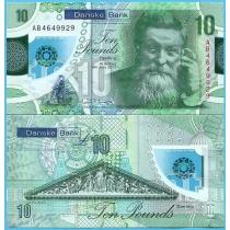 Северная Ирландия (Danske Bank) 10 фунтов 2017 год. Джон Данлоп.