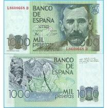 Испания 1000 песет 1979 год.