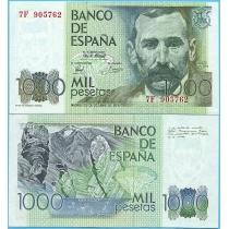 Испания 1000 песет 1979 год. Замещение.