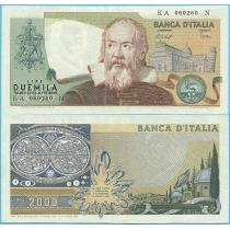 Италия 2000 лир 1976 год.