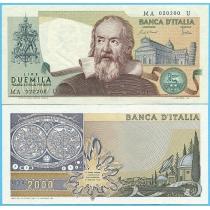 Италия 2000 лир 1983 год.