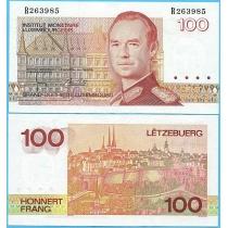 Люксембург 100 франков 1993 год.