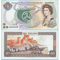 Остров Мэн 10 фунтов 1998 год.