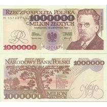 Польша 1 000 000 злотых 1993 год.