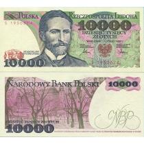 Польша 10000 злотых 1987 г.