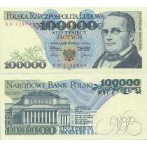 Польша 100000 злотых 1990 г.