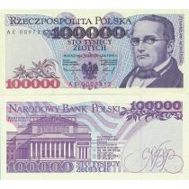 Польша 100000 злотых 1993 г.