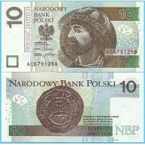 Польша 10 злотых 2012 год.