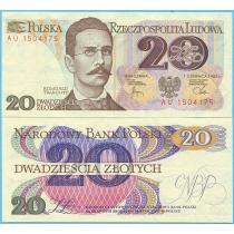 Польша 20 злотых 1982 год.