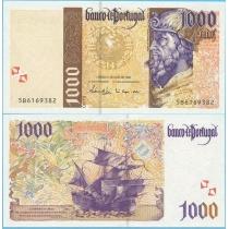 Португалия  1000 эскудо 1998 год.