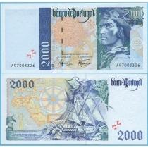 Португалия  2000 эскудо 1997 год.