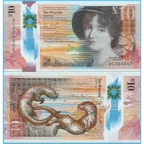 Шотландия 10 фунтов 2016 год. Мэри Сомервилль