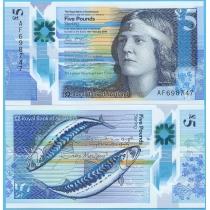 Шотландия 5 фунтов 2016 год. Нан Шеперд.