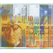 Швейцария 10 франков 2006 год.
